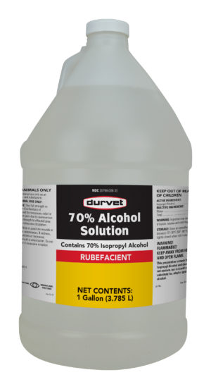 70% Alcohol Solution Gallon