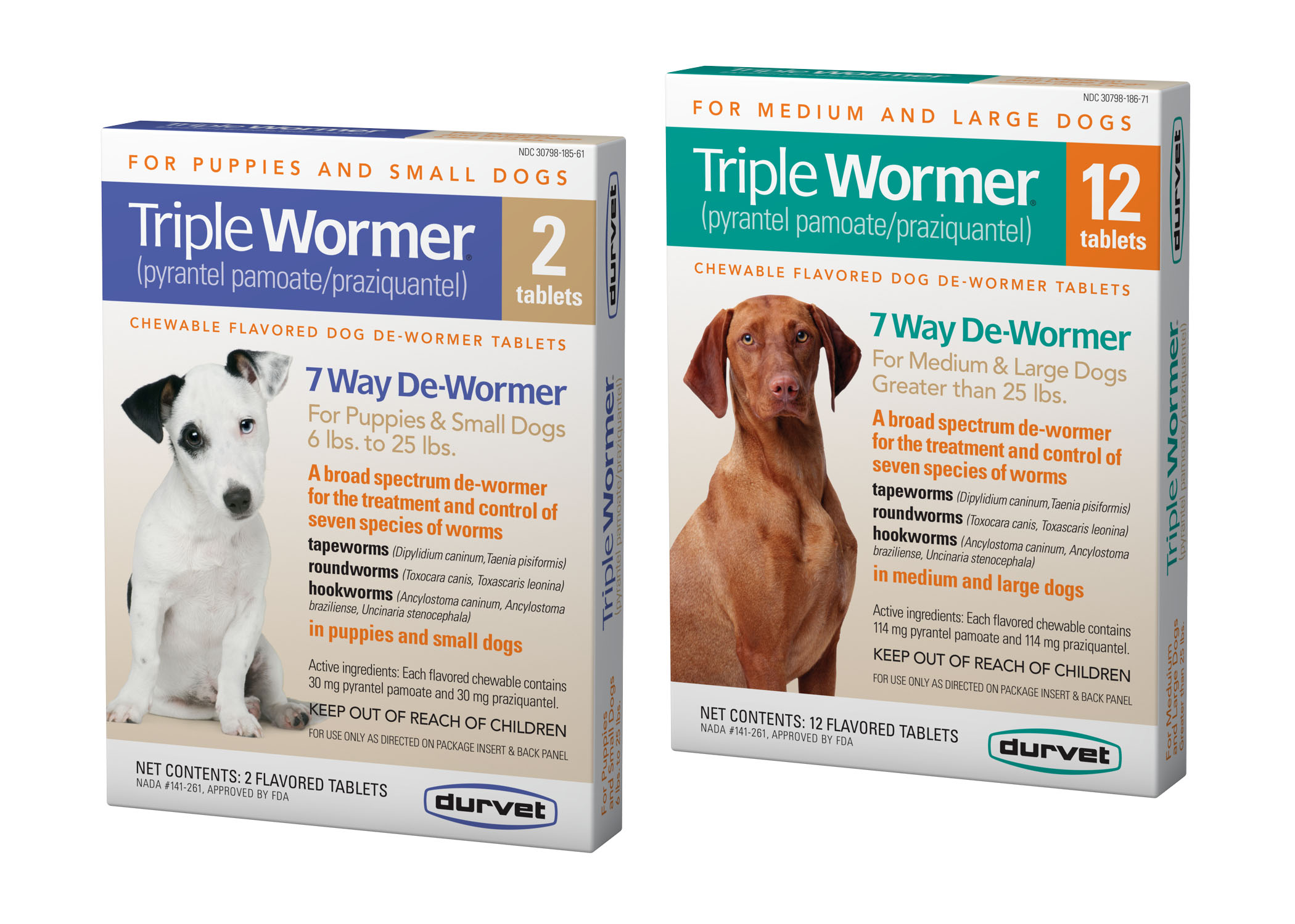 Triple Wormer Durvet