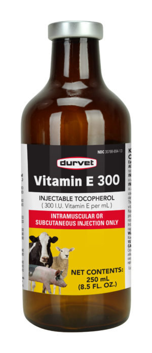 Durvet Vitamin E 300 500 mL