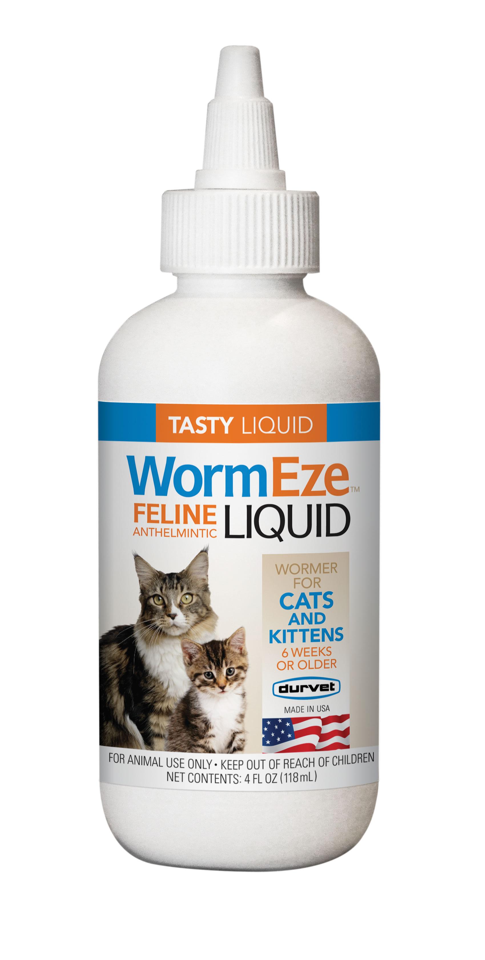 Wormeze Liquid For Cats Kittens Durvet