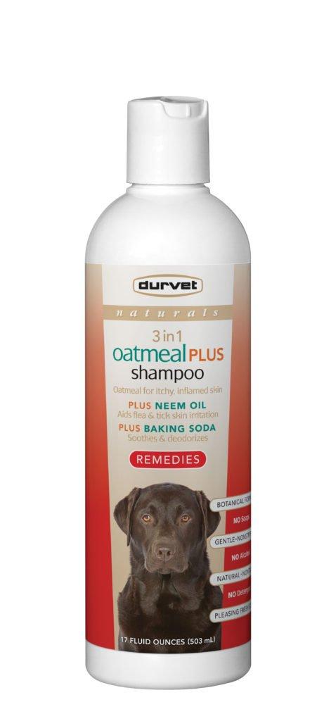 Naturals Remedies 3 In 1 Oatmeal Plus Shampoo Durvet