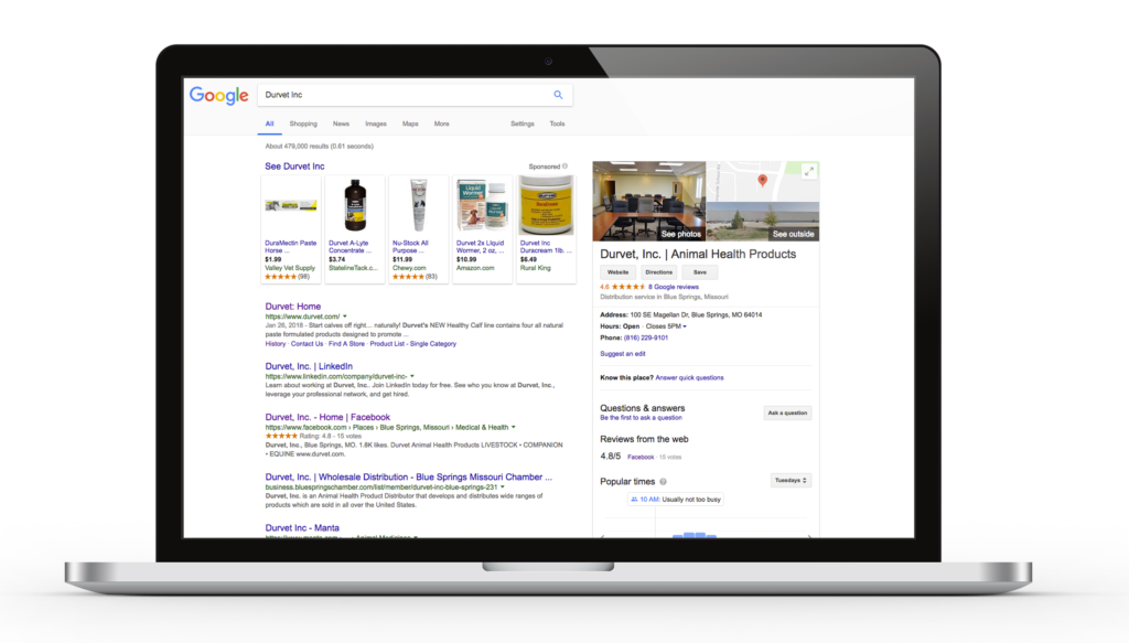Get Googled Desktop View - Google My Business