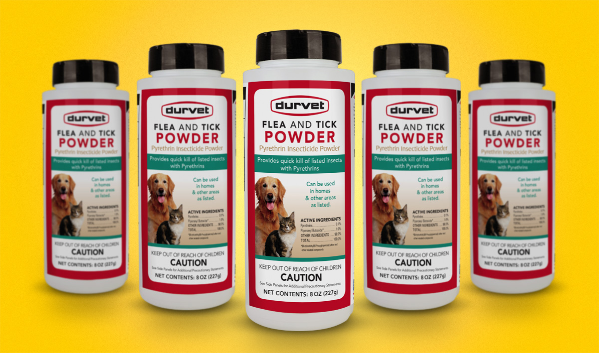 Durvet Flea & Tick Powder