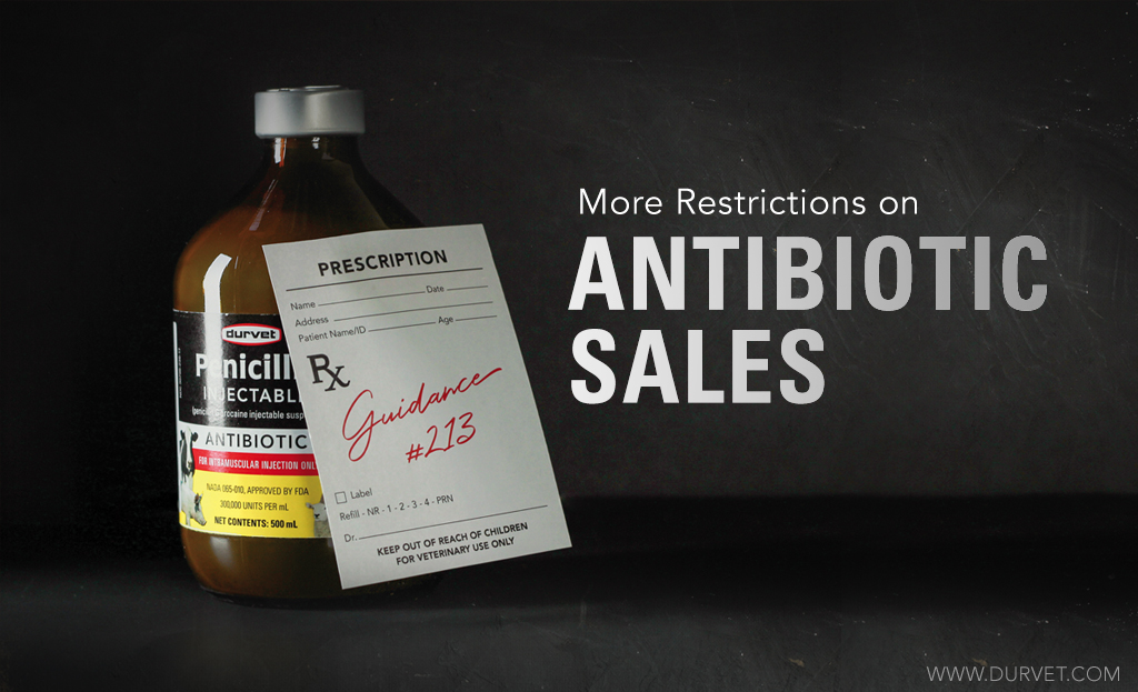 More Restrictions on Antibiotic Sales