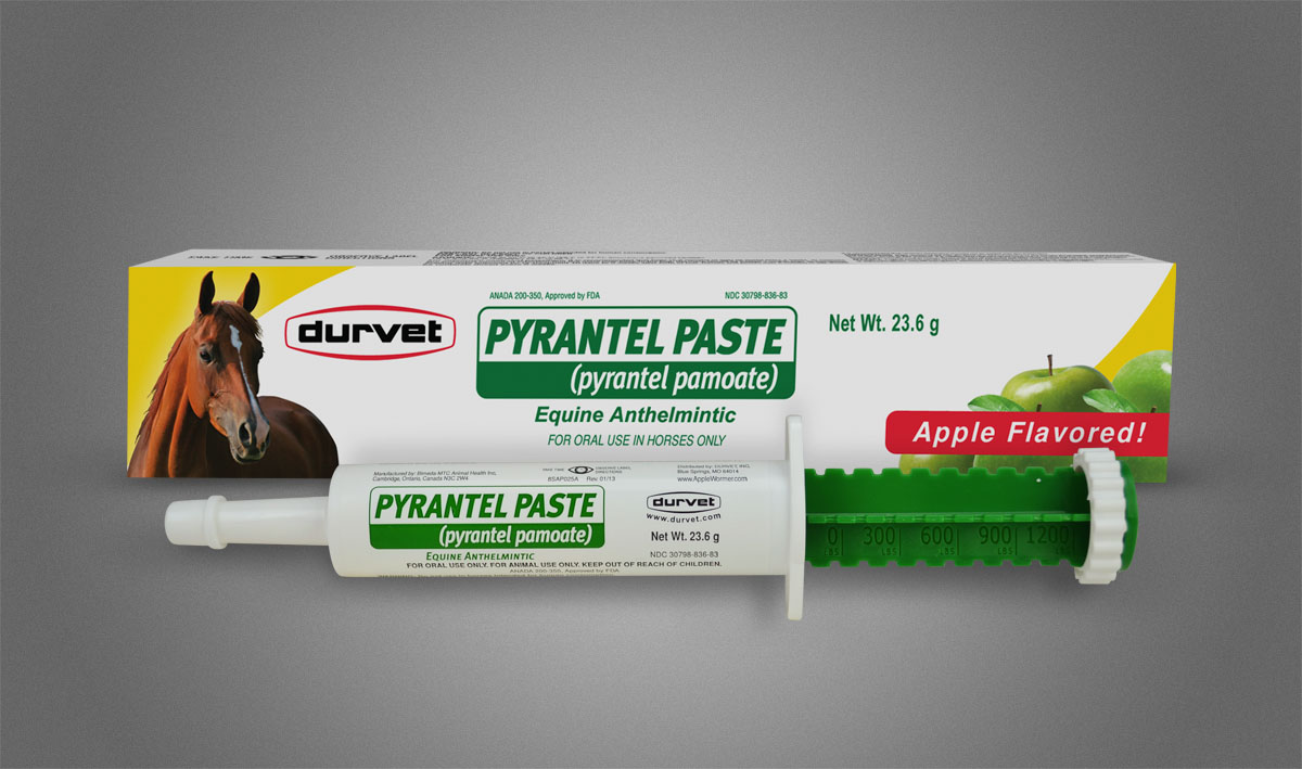 Pyrantel Paste 23.6g for Horses