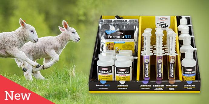 NEW Healthy Lamb and Kid Display